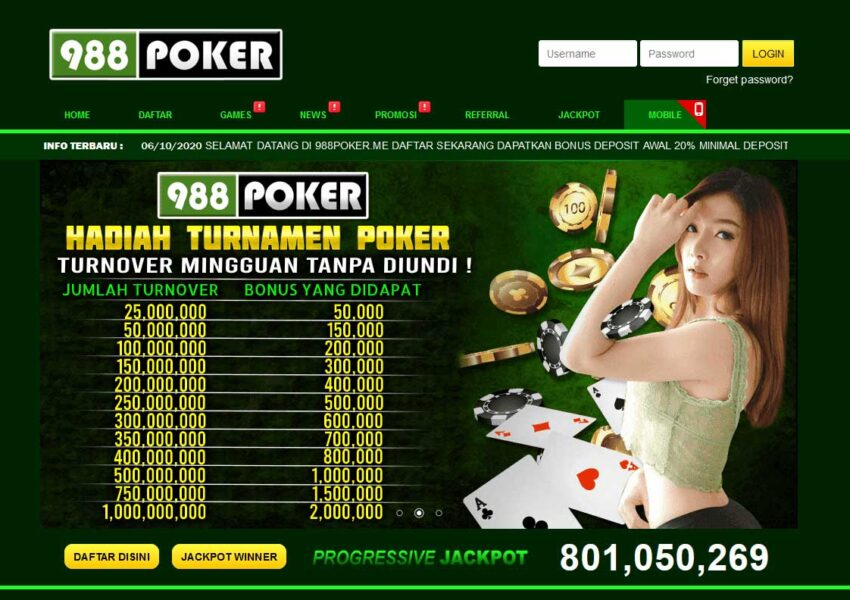 safest 988POKER site
